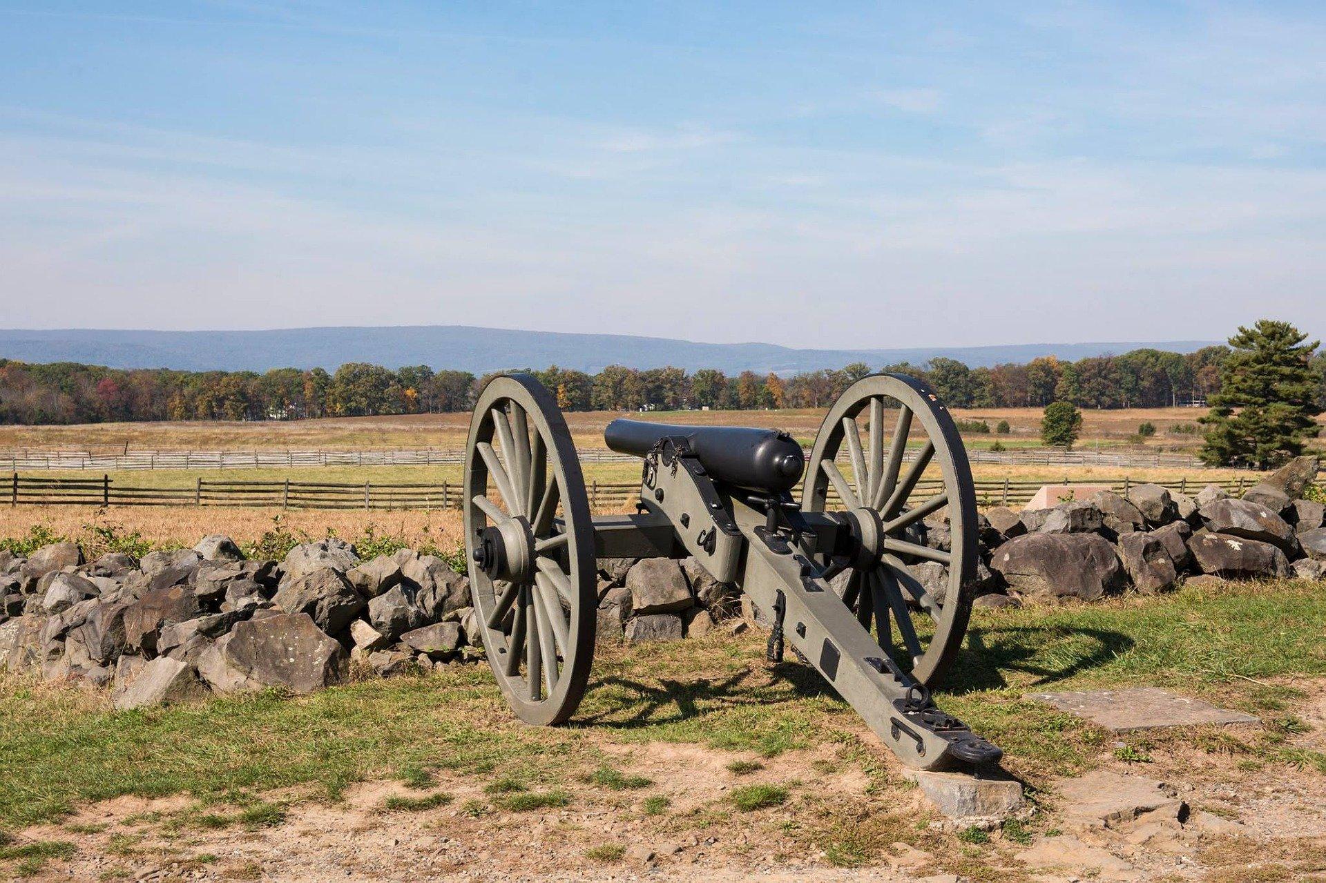 USA-gettysburg-Pennsylvania-tykki-1920