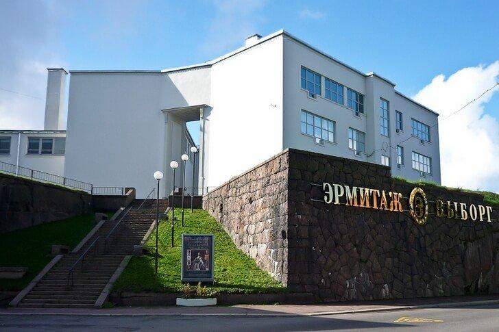 Venäjä-Viipuri-ermitaasi-ulko