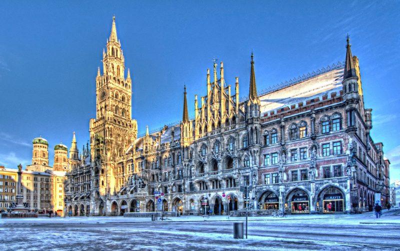 Saksa München Uusivuosi