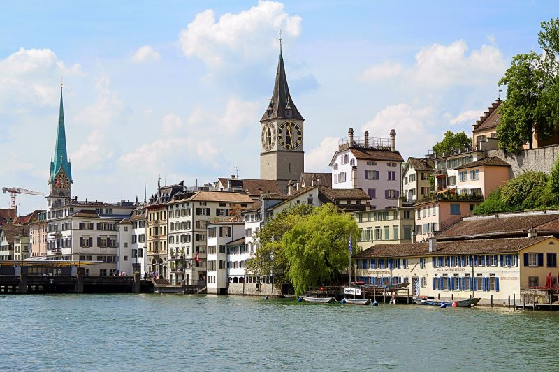 Sveitsi Zürich kaupunkiloma