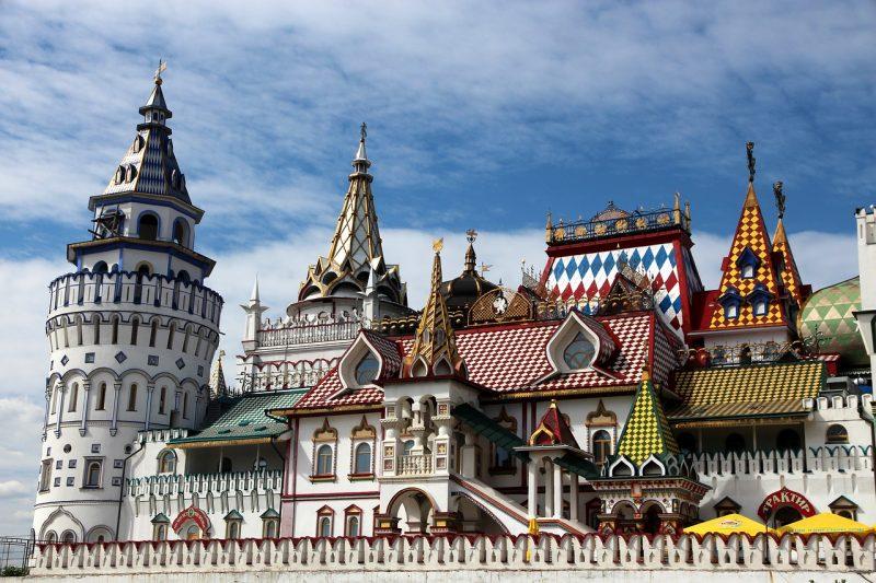 Venäjä Moskova lentäen