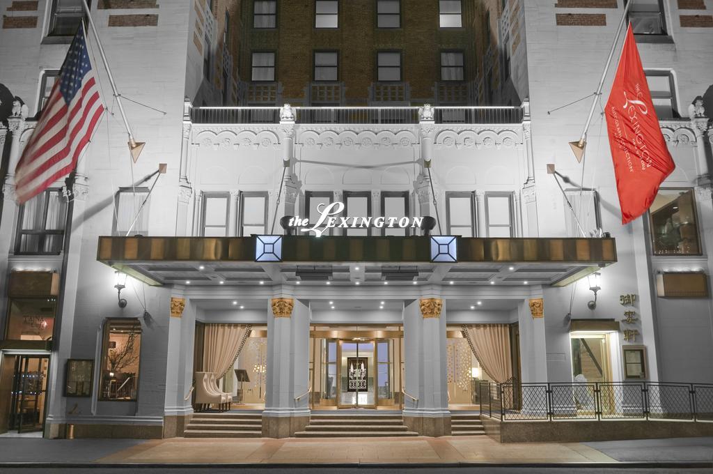 USA-NewYork-Lexington hotel-ulko