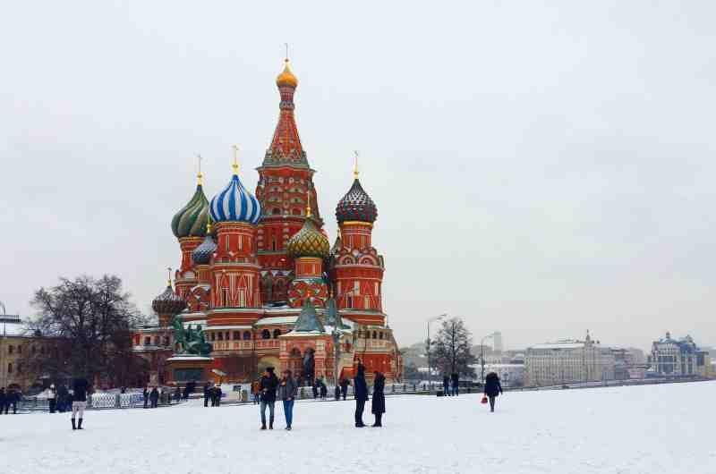 Venäjä Moskova kirkko
