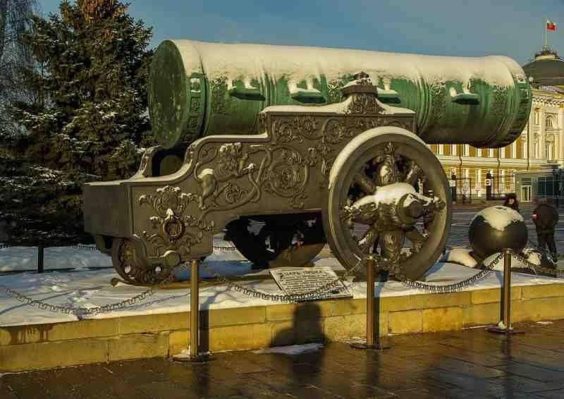 Venäjä Moskova tsaarin tykki