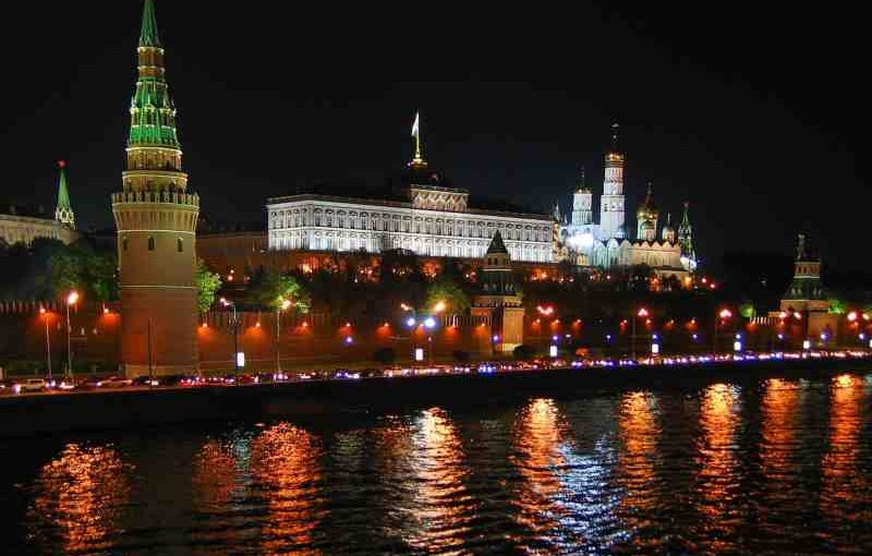 Venäjä Moskovan yö