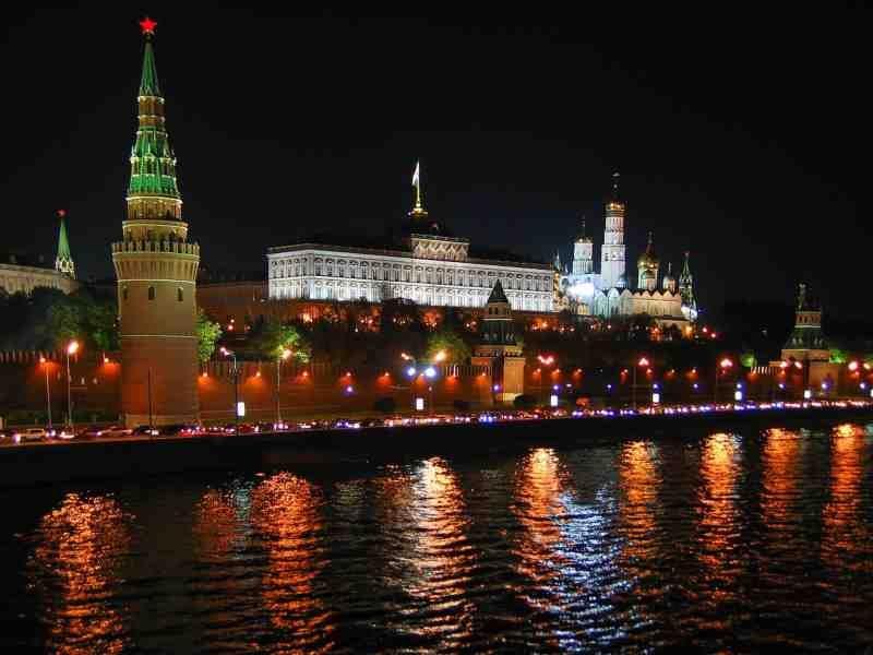 Venäjä Moskova yö