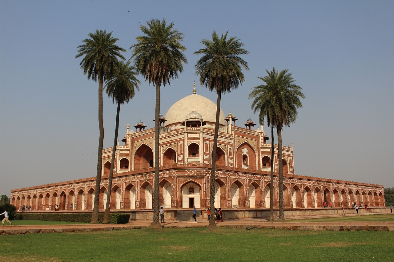 Intia Delhi kaukomatka