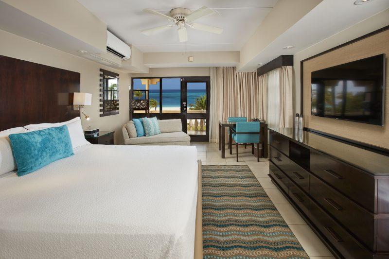 Bucuti deluxe merinäköalallinen huone