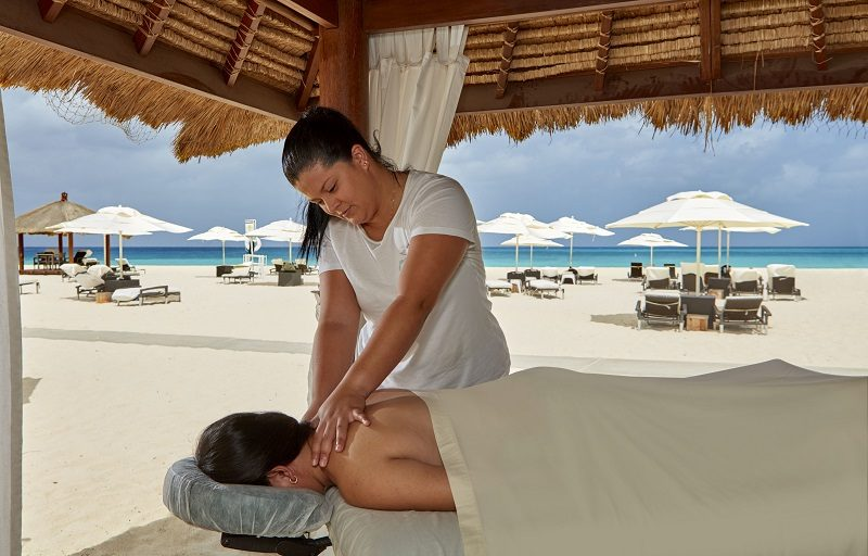 Spa Beach Massage
