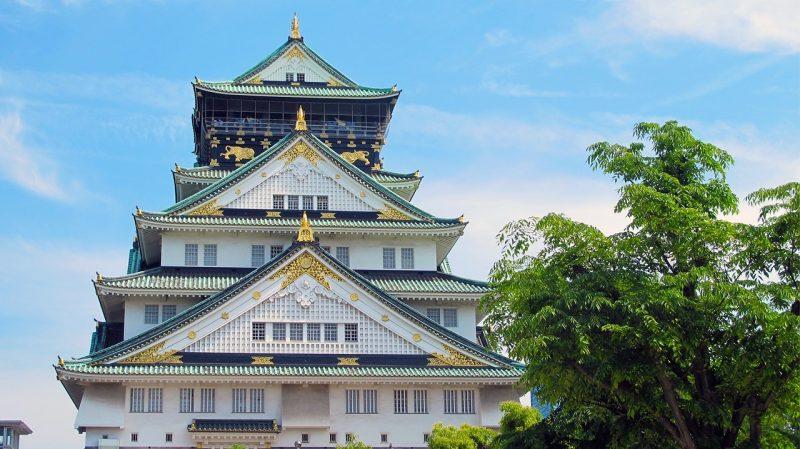 Japani-osaka-castle-1398118_1280