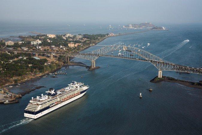 Celebrity Infinity Panama Canal Celebrity Cruises
