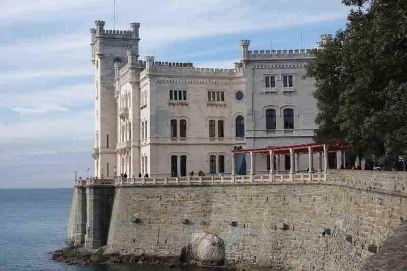 Italia Trieste Miramare linna