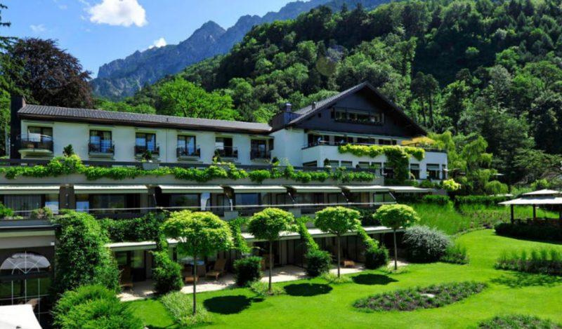 Liechtenstein Vaduz Parkhotel Sonnehof