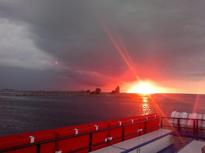 Meriset-auringonlasku