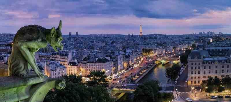 Ranska Pariisi yö