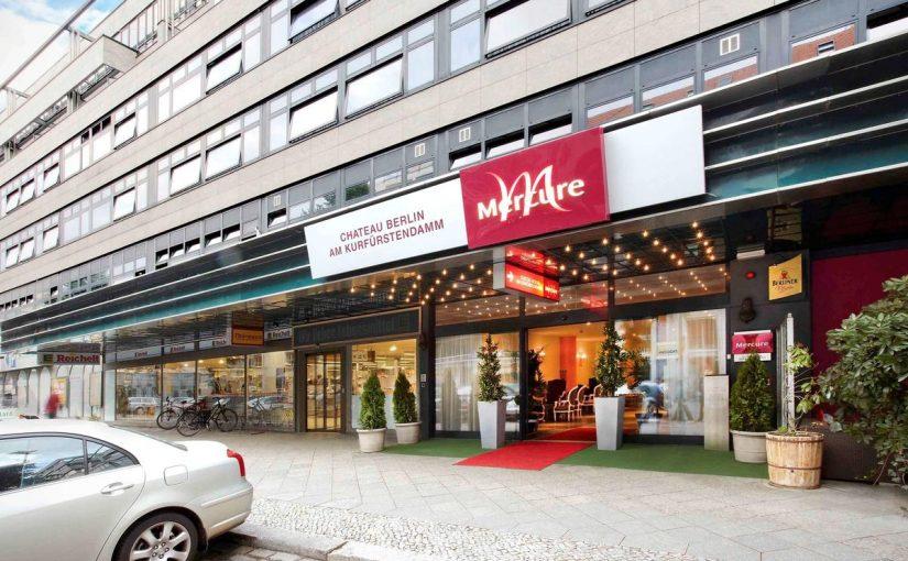 Saksa-Berliini-Mercure Hotel Chateau Berlin am Kurfürstendamm ulko