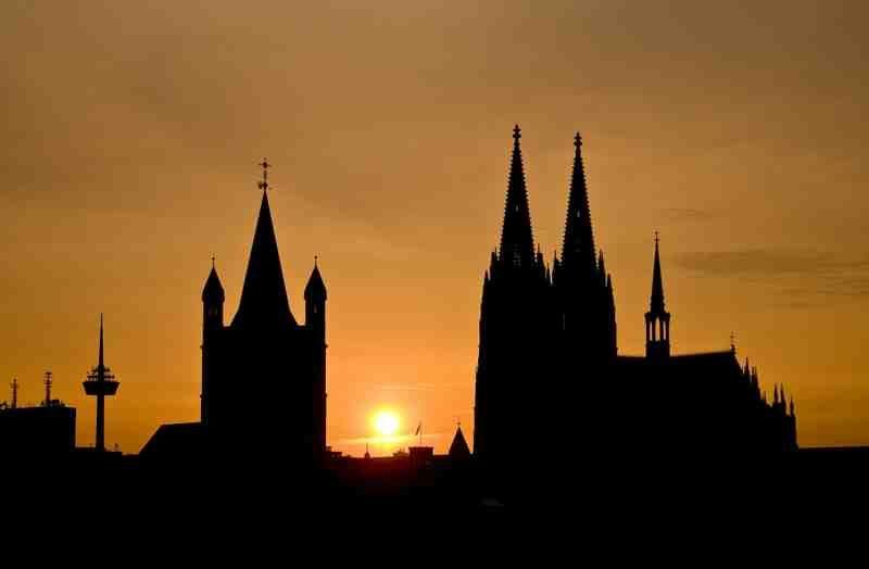 Saksa Köln tuomiokirkko
