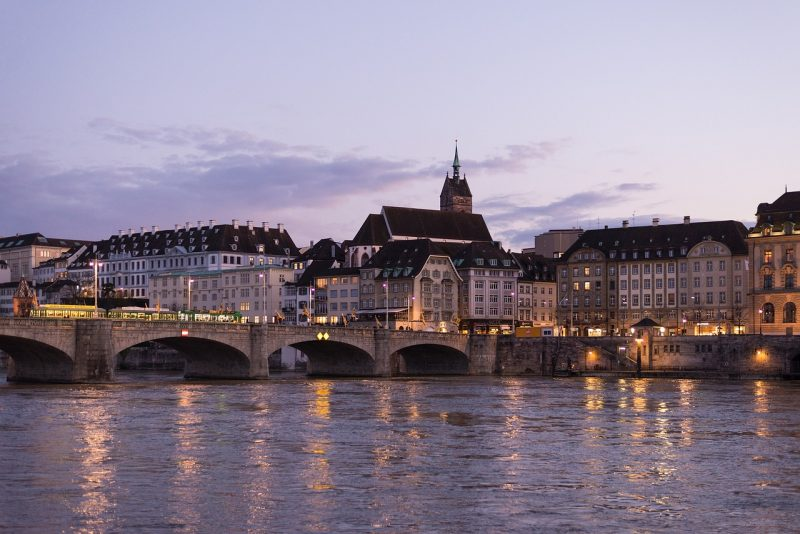 Sveitsi Basel Rein