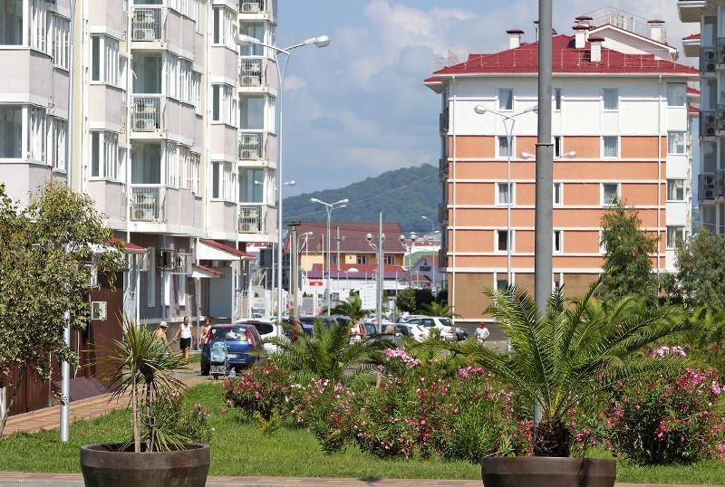 Sochi Barkhatnye Sezony Ekaterininsky Kvartal hotellin ulko