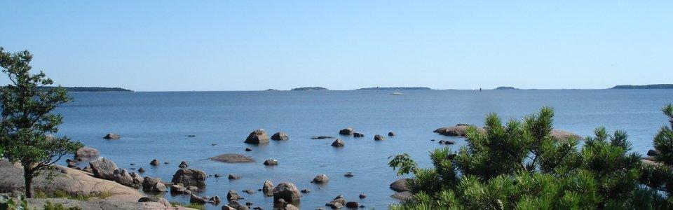 Pyhtää saaristo meri