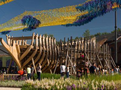 Venäjä-Pietari-Uusi Hollanti leikkipuisto