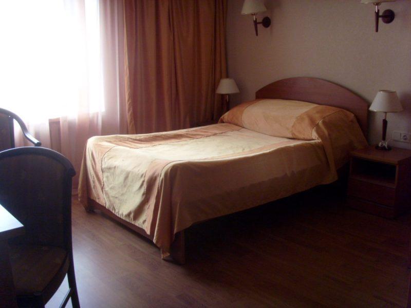 Venäjä_Karjala_Belomorsk_Gandvik hotelli_huone1