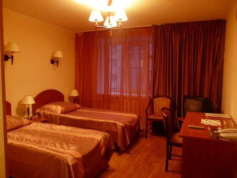 Venäjä_Karjala_Belomorsk_Gandvik hotelli_huone2