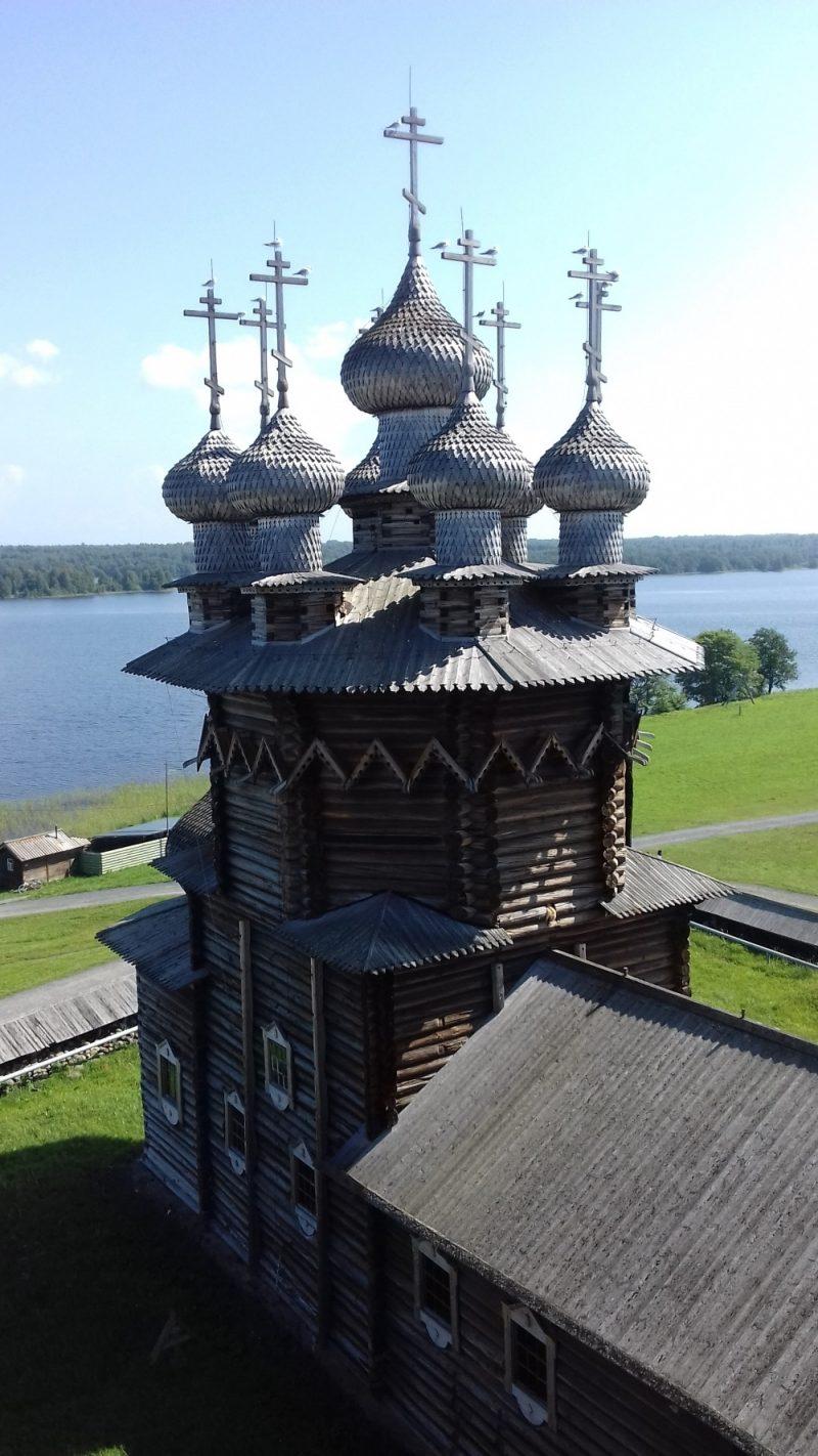 Venäjä_Karjala_Kiži_Jumalansynnyttäjän suojeluksen kirkko