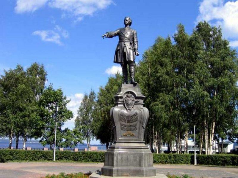 Venäjä_Karjala_Petroskoi_Pietari Suuren patsas