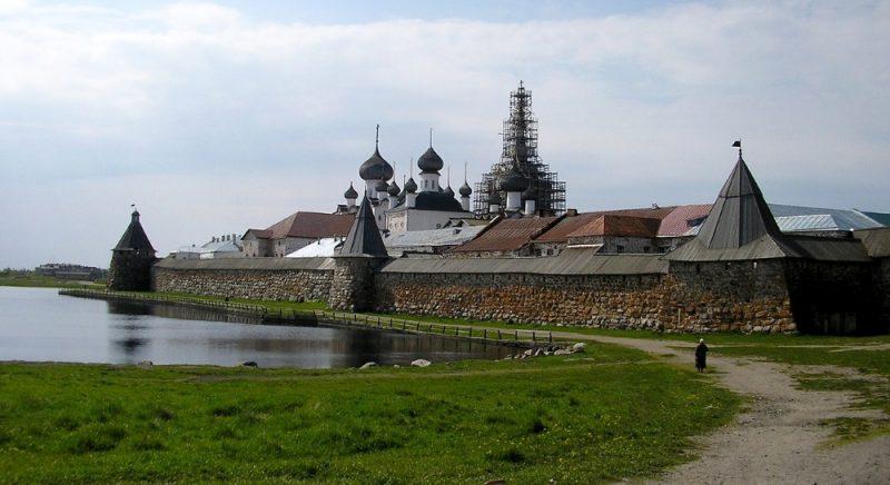 Venäjä_Karjala_Solovetski_luostari
