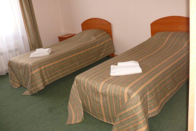 Venäjä_Karjala_Sortavala_Kaunis hotelli_huone1