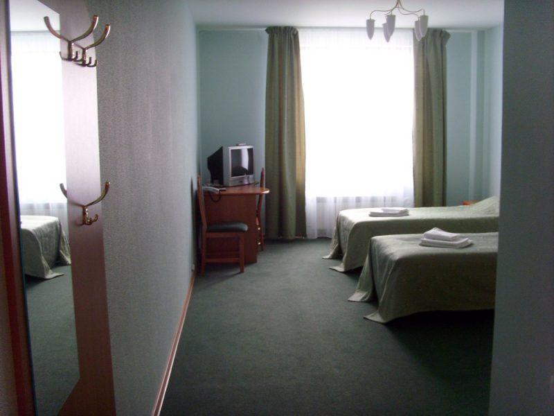 Venäjä_Karjala_Sortavala_Kaunis hotelli_huone2