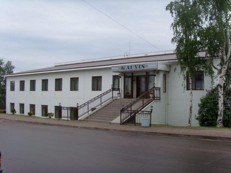 Venäjä_Karjala_Sortavala_Kaunis hotelli_ulkoa