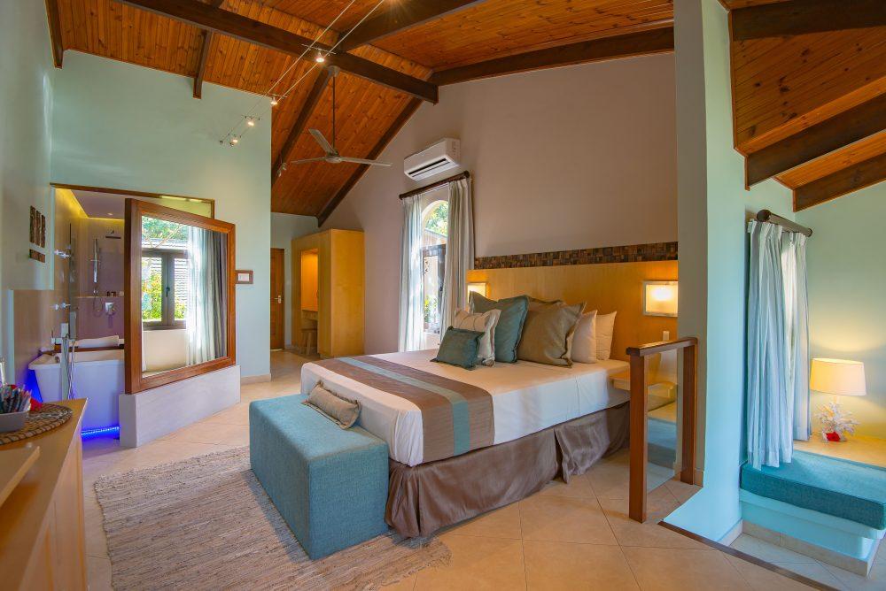 Coco de Mer hotelli standard huone