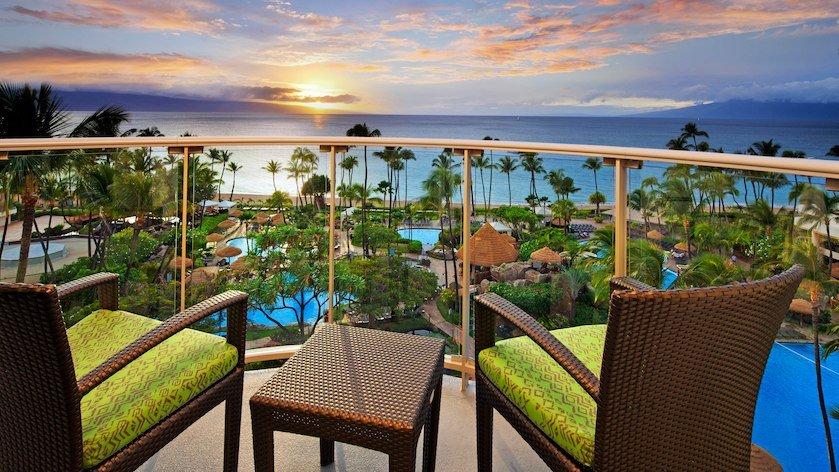 USA-Havaiji-The Westin Maui Resort & Spa, Kaanapali-Superior Ocean View-balcony