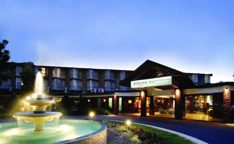 Berjaya-Beau-Vallon-Bay-Resort-&-Casino-Resort Entrance Night