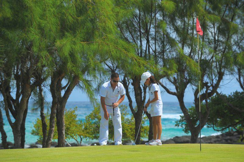 Golfkenttä hotel Shandrani