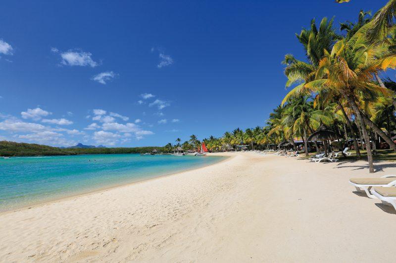Kymenmatkat_Mauritius_hotel Shandrani_rantaviivaa