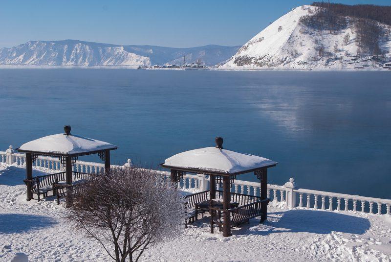 Venäjä Siperia Talvimatka Baikaljärvelle