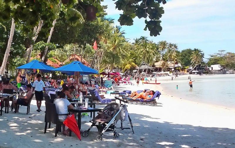 Thaimaa Bangkok Koh Samui yhdistelmämatka