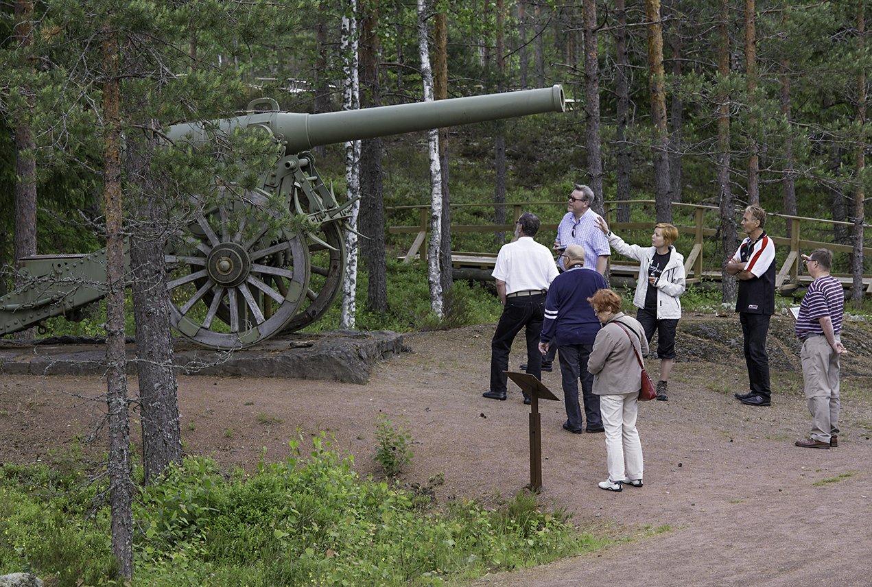 Miehikkälän Salpalinja ja Kotka Rankki