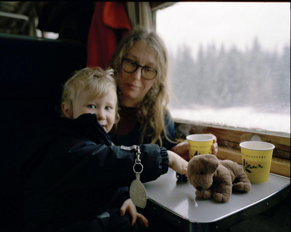 Vuokatti Pääsiäinen reissujunalla