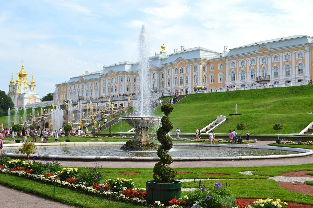 Venäjä Pietari Tsaarien Pietari ja palatsit