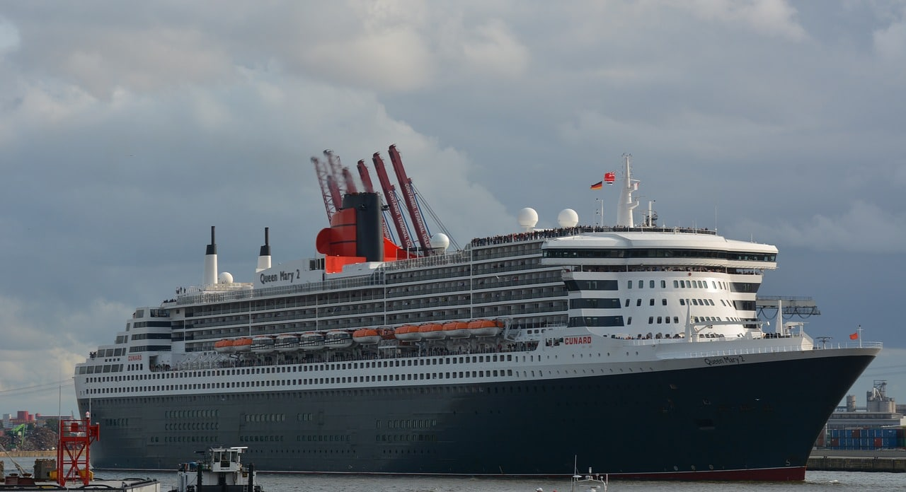 Atlantin ylitys Queen Mary-2