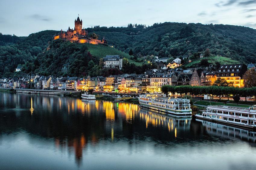Saksa patikkamatka Mosel - Rein