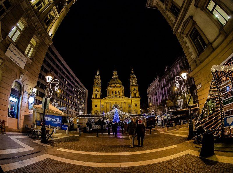 Unkari Budapest Joulutorit