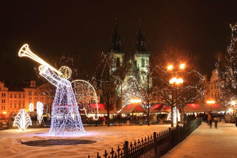 Tšekki Praha Joulutorit
