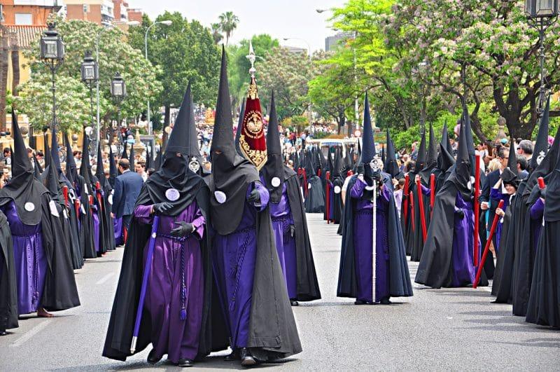 Espanja Sevilla pääsiäismatka