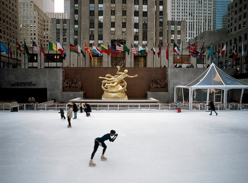 USA New York Joulumatka