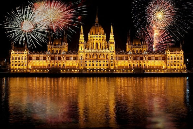 Unkari Budapest Uusivuosi